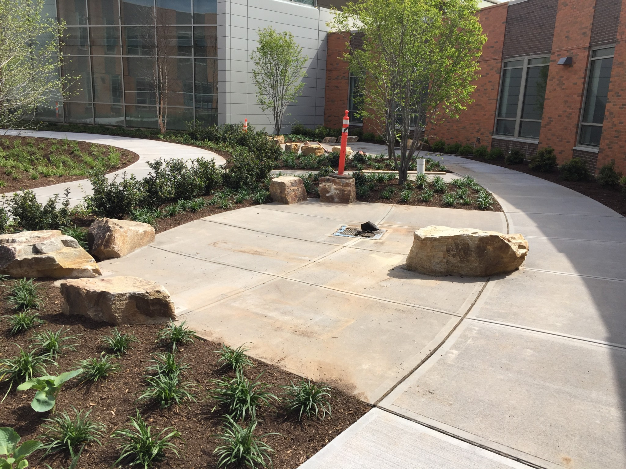 Prestressed Concrete Sidewalks : Charter oak international academy west hartford ct